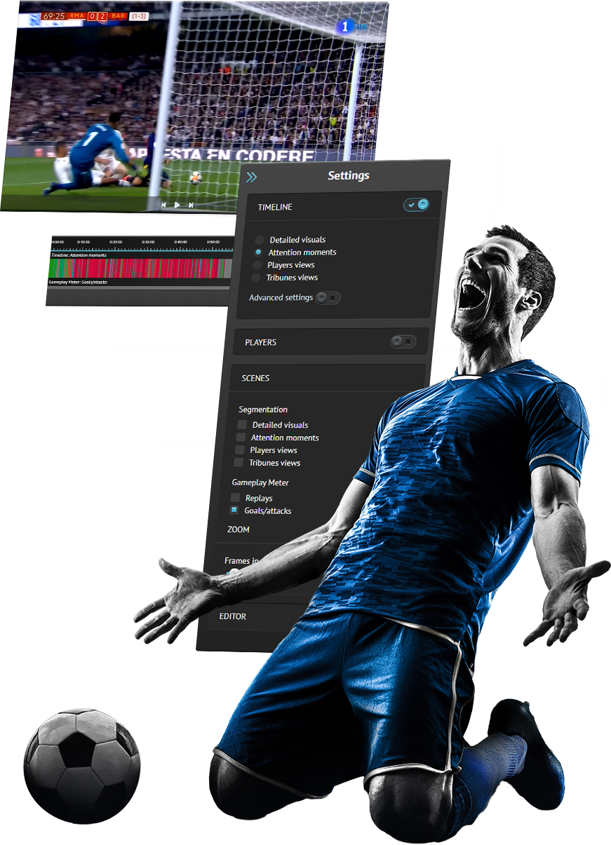 Real-Time Soccer Highlights Compilation Solution | Oxagile